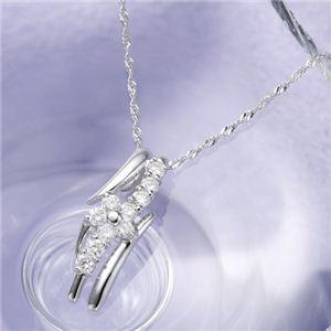 18金ホワイトゴールド(K18WG) スウィート 10ダイヤモンドペンダント.jpg